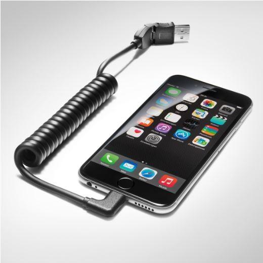 USB-Adapterleitung mit Apple Lightning Buchse, gewinkelt