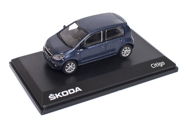 ŠKODA Modellauto CITIGO, 1:43, Farbe Night-Blue