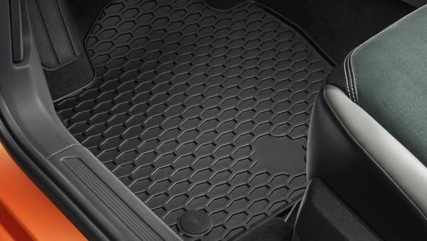 Volkswagen Gummifußmatten Plus für VW Polo ab 2018