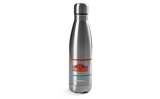 ŠKODA Edelstahl Trinkflasche Monte Carlo, 0,5 l