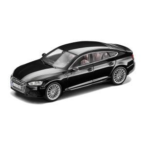 Modellauto Audi A5 Sportback, Mythosschwarz, 1:43