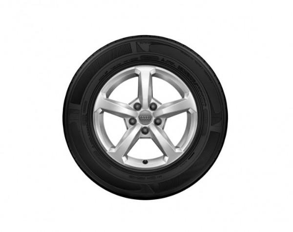 Winterkomplettrad-Satz im 5-Speichen-Design 205/60 R16 92H Michelin Audi Q2