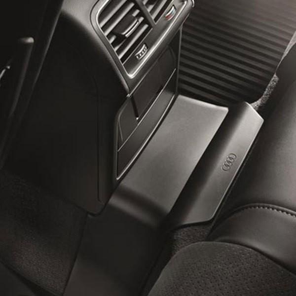 Tunnelabdeckung, schwarz für Audi A4 8K
