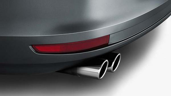 Volkswagen Endschalldämpferblende Chrom 60mm