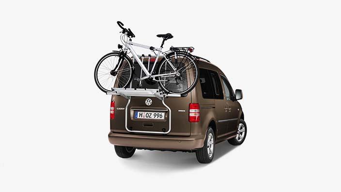volkswagen fahrradtr ger f r heckklappe f r 3 fahrr der. Black Bedroom Furniture Sets. Home Design Ideas