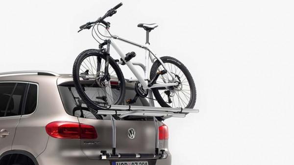 Volkswagen Fahrradträger für Heckklappe (2 Fahrräder) für Tiguan